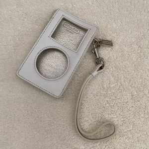 Old School iPod Coach Cover - White NWOT